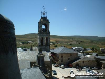Puebla de Sanabria - Castillo de Sanabria; mochilas de senderismo; viajes en noviembre
